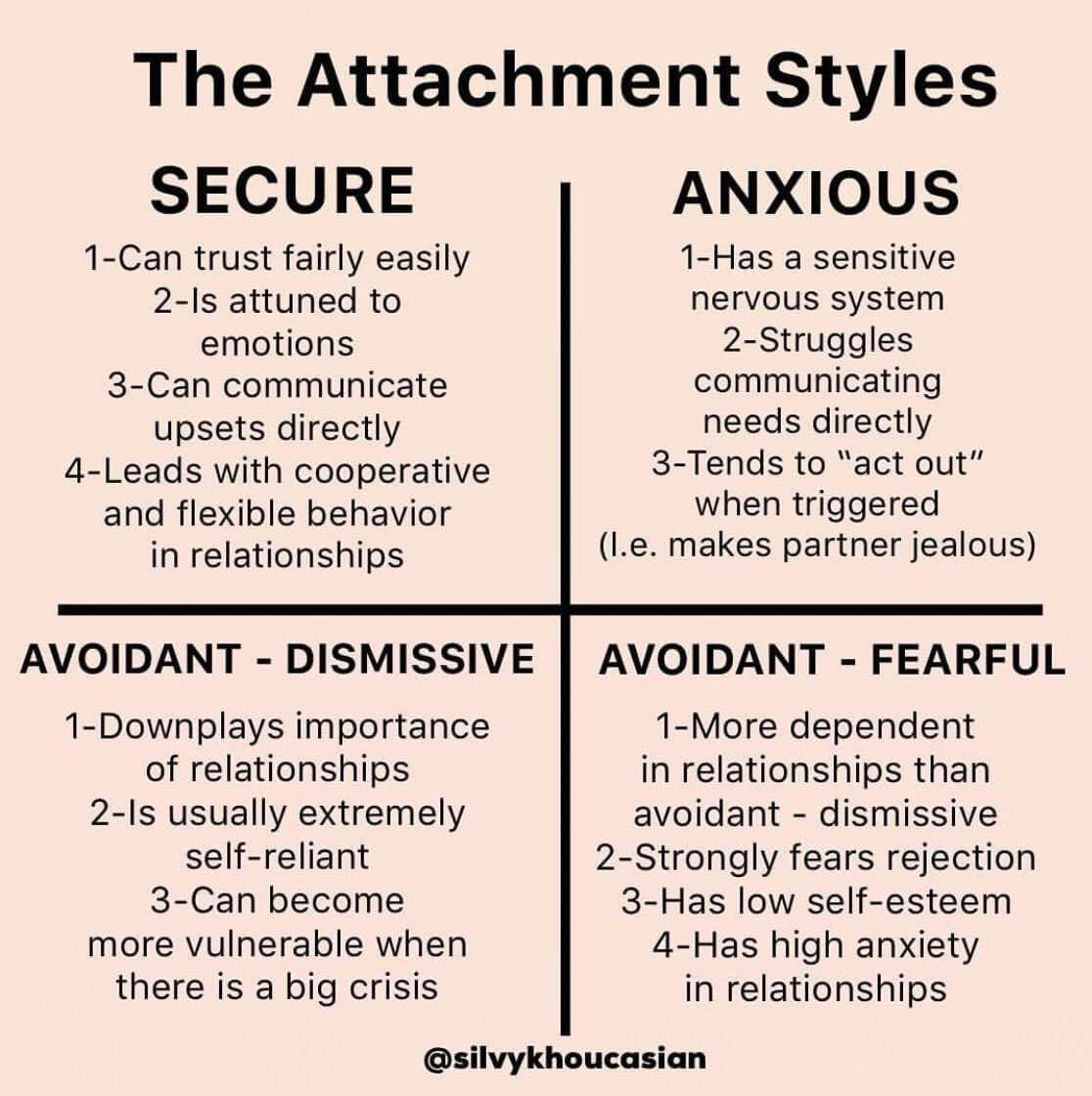 Avoidant attachment secure How To